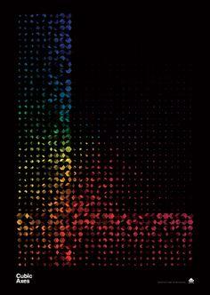 CUBEN Posters by Simon C Page, via Behance