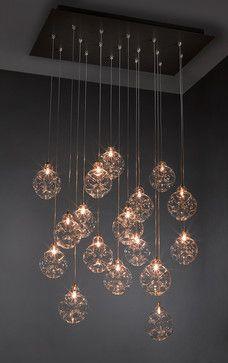 Cloud Chandelier - Blown Glass Pendant Lighting - contemporary - pendant lighting - minneapolis - Bahir Custom Lighting & Decor