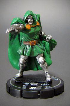 Marvel HeroClix Secret Invasion #115 Victor Von Doom