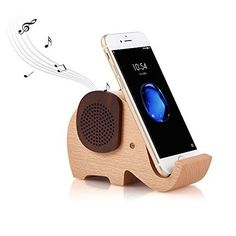 Now available in our store Artinova Elephant.... Check it out! http://sabamallexpress.com/products/artinova-elephant-shape-multifunctional-wooden-wireless-bluetooth-speaker-with-mobile-phone-stand-holder-arta-0031?utm_campaign=social_autopilot&utm_source=pin&utm_medium=pin