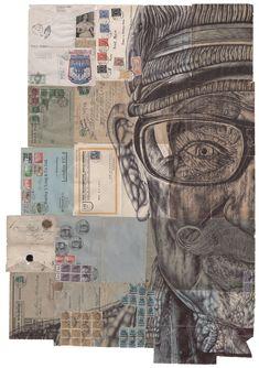 Ballpoint pen drawings by London-based artist Mark Powell. Kunst Inspo, Art Inspo, Art And Illustration, Fine Art Drawing, Art Drawings, Kunst Portfolio, Mark Powell, A Level Art Sketchbook, Artist Sketchbook