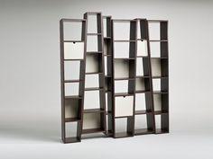 Librería abierta doble cara BEAT by i 4 Mariani | diseño Alessandro Dubini