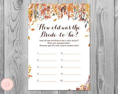 Wedding Invitations Wedding Signs and Charts by BrideandBows