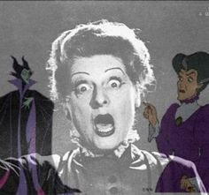 Elaenor Audley as Maleficent & the Evil Step Mother