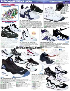 64028c1d4 Nike CB 4 - 25 Classic Sneakers From Vintage Eastbay Catalogs