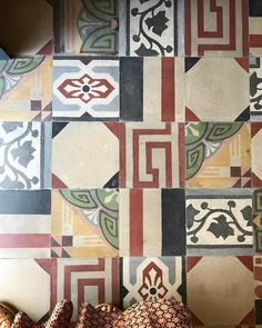 Faux EncausticFederationMoroocan Wall And Floor Tiles Sydney - Faux encaustic tile