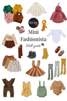 Girls Fall Fashion, Girls Fashion Clothes, Baby Girl Fashion, Toddler Fashion, Luxury Baby Clothes, Fall Baby Clothes, Teenage Girl Outfits, Cute Outfits For Kids, Baby Girl Fall