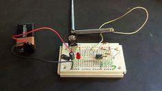 RF Signal Strength Meter