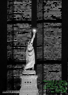 Estátua da Liberdade - Torres Gêmeas