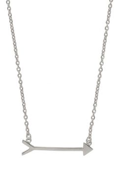 Accessorize with an arrow necklace from Stella