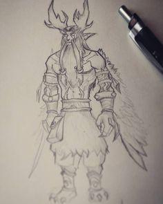 Sketchy sketch    #impalasart #sketch #druid #blizzard #warcraft #malfurion #character #sketchbook #stormrage #followme #drawing #traditional #moleskine #pencil #wings #game #fantasy #wow #worldofwarcraft #daily #illustration #dailyart #instagood #instaart #instaartist #tumblrart #l4l