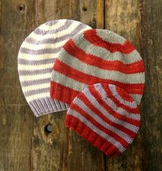 Swans Island Bulky Hats for the Whole Family Free Knitting Pattern at Jimmy Beans Wool