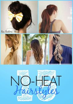 Diy Projects: 15 Easy & Cool No-Heat Hairstyles