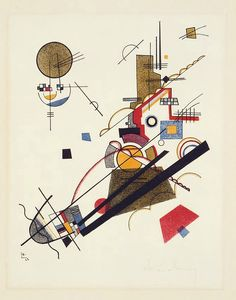 "Wassily Kandinsky - ""Joyful Arising"", 1923"