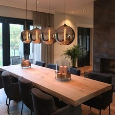 MaisonManon # Dining room You are in the right place about warm home decor Here we offer Home Decor Kitchen, Kitchen Interior, Home Interior Design, Home Kitchens, Dining Room Design, Dining Room Furniture, Furniture Ads, Dining Room Inspiration, Furniture Inspiration