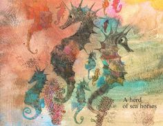 Herd of Seahorses by Brian Wildsmith