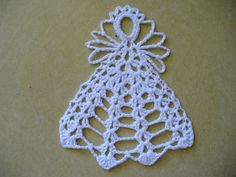 Crocheted Small Fluffy Angel Decorations, appliques, embellishments, hand crochet - Choose your colo Crochet Christmas Ornaments, Christmas Crochet Patterns, Crochet Snowflakes, Angel Ornaments, Christmas Angels, Christmas Crafts, Christmas Tree, Crochet Angel Pattern, Crochet Angels