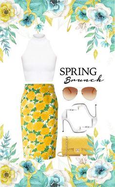 """""""Spring Brunch"""" by jenniferfls on Polyvore"""