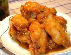 Alitas de pollo a la cerveza con setas - Recetízate
