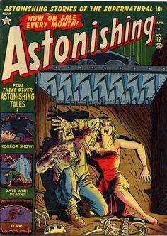 Cover for Astonishing (Marvel, 1951 series) #12