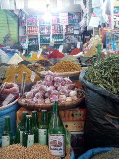 Mercado de especias  (Marruecos,Agadir)