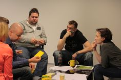 Group work at Soap Box in Tampere