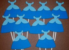 Set of 12 Cinderella Cupcake Toppers, Princess Party Decor, Princess Birthday, Princess Baby Shower, Disney Decor