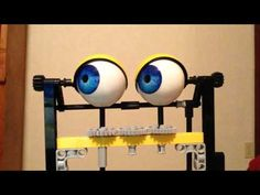 Hand Controlled Mechanized Puppet Eyes Tutorial - YouTube
