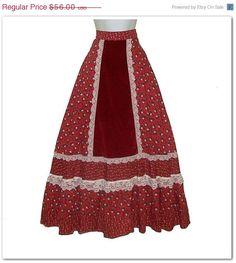Gunne Sax  ~*I Had this Skirt in High School!Lol*~