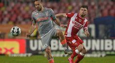 UTA Arad a învins-o în această seară în deplasare pe Dinamo cu scorul de 1-0 (1-0), într-o partidă contând pentru etapa a 2-a a play-out-ului ligii 1. Unicul gol al meciului a fost înscris în minutul 34 de Miculescu care a reluat cu capul o centrare excelentă a lui Shlyakov. Detaliile meciului Echipele de start: Dinamo:Kongshavn – Ehmann (Nepomuceno 70′), Bejan (Grigore 70′), Albentosa, Filip – Răuţă, Gol – Bani (Fabbrini 60′), Anton (Puljic 84′)