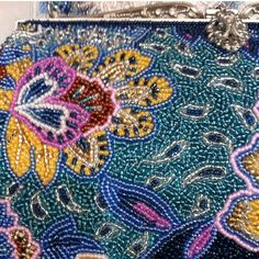 Bag of beads embroidery