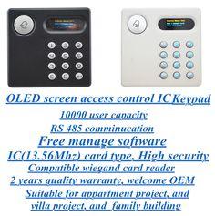 OLED screen access control keypad EA-83DK