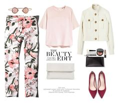 """Beauty in flowers.."" by gul07 ❤ liked on Polyvore featuring Abercrombie & Fitch, Whistles, H&M, Zara and Bobbi Brown Cosmetics"