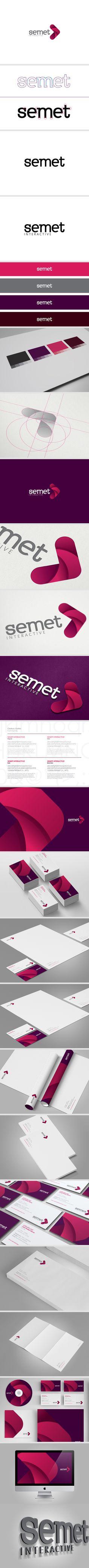 Semet Visual Identity #design #corporate #identity #branding #visual