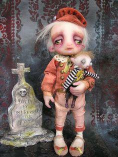 Gail Lackey Ghosties Fairys and Magical Things: Niada Dolls
