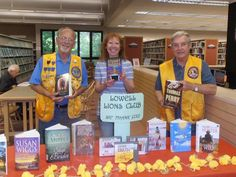 Lowell #LionsClub donates to provide library materials for the visually impaired