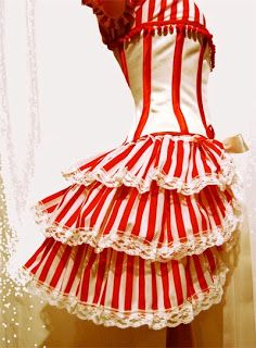 Carnival stripes - steampunk