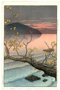 Kawase Hasui (1883-1957): Nenokuchi, Towada, 1933