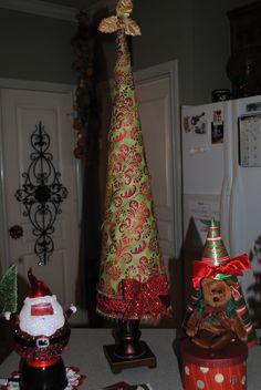 cone tree I made