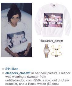 Eleanor's clothes