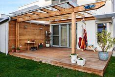 Pergola, Outdoor Structures, Design, Board, Wooden Crates, Solar Shades, Decorating, Ideas, Design Comics