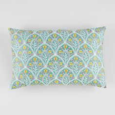 """Sky Scallop Embroidery Decorative Pillow, 14"""" x 22"""" - Bloomingdale's Exclusive"""