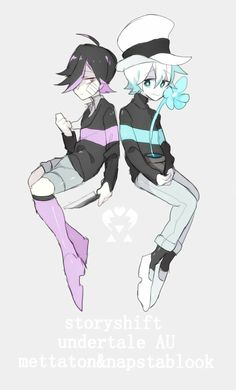 //Aww Napsta! And Mettaton with the fabulous boots.