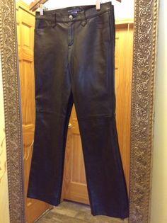 Ralph Lauren Women's 100% Genuine Leather Pants Size: 4 #RalphLauren #Leather #RL #Pants #LeatherPants #RLPanta #RLWomens #GenuineLeatherPants #Size4 #Womens
