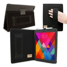 Snugg iPad Air (iPad 5) Case in Black Leather - Flip Cover and Stand with Automatic Wake / Sleep, Elastic Hand Strap & Soft Premium Nubuck Fibre Interior to Protect Apple iPad Air (iPad 5) - Includes Lifetime Guarantee Snugg http://www.amazon.com/dp/B00EYDTA3W/ref=cm_sw_r_pi_dp_qigRtb14NWCST495
