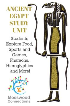 Student explore food, sports and games, hieroglyphics, Pharaohs, weather and more! Ancient Egypt Lessons, Ancient Egypt Activities, Ancient Egypt Crafts, Ancient Egypt For Kids, History Activities, Educational Activities For Kids, Teaching History, Ancient History, Learning Activities