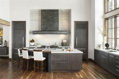Light Transitional Kitchen by Mikal Otten on HomePortfolio