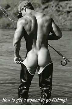 oh yeah, fishin' - hmm, now that's what I call fishing...