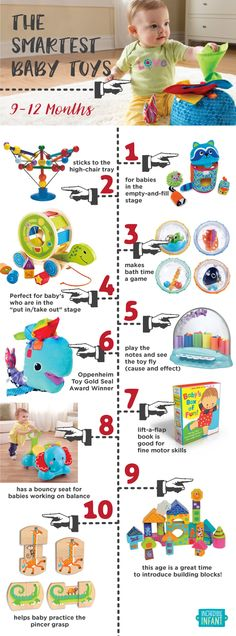 The Best Baby Toys for 9-12 Month Olds