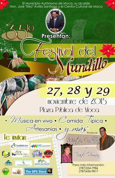 Festival del Mundillo 2015 #sondeaquipr #festivaldelmundillo #moca #festivalespr #turismointerno